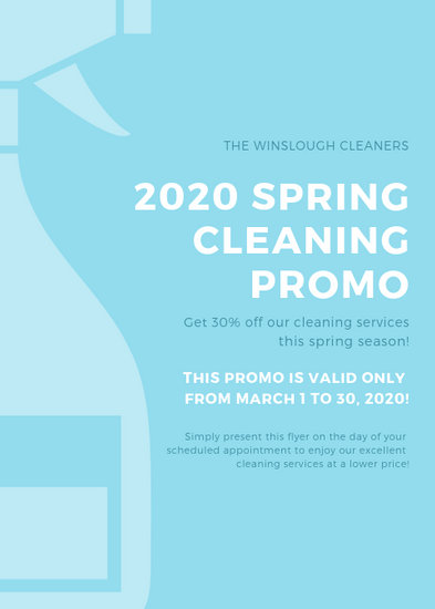 Customize 105+ Cleaning Flyer templates online - Canva