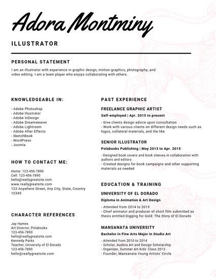 Yellow Confetti Teacher Creative Resume - Templates by Canva