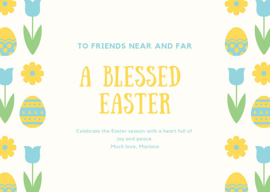 Customize 63+ Easter Card templates online - Canva