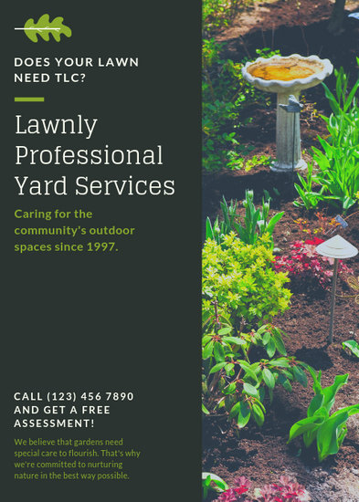 Customize 30+ Landscaping Flyer templates online - Canva