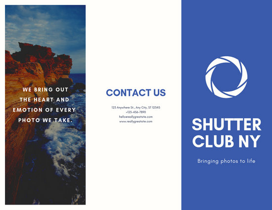 Customize 33+ Photography Brochure templates online - Canva