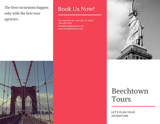 Customize 73+ Travel Brochure templates online - Canva
