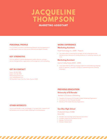 Customize 209+ Creative Resume templates online - Canva