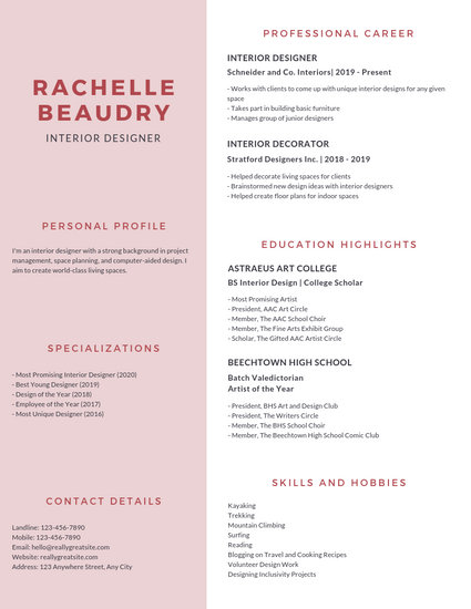 Customize 1,079+ Resume templates online - Canva