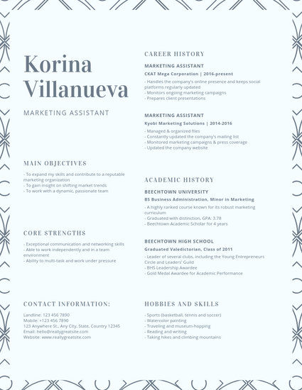 Customize 27+ College Resume templates online - Canva