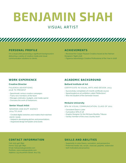 Customize 143+ Infographic Resume templates online - Canva