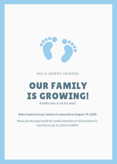Customize 124+ Pregnancy Announcement templates online - Canva