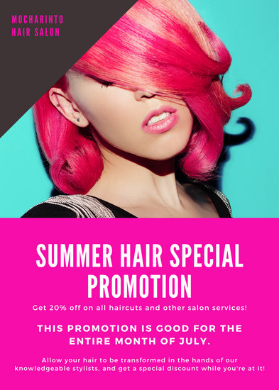 Customize 55+ Hair Salon Flyer templates online - Canva