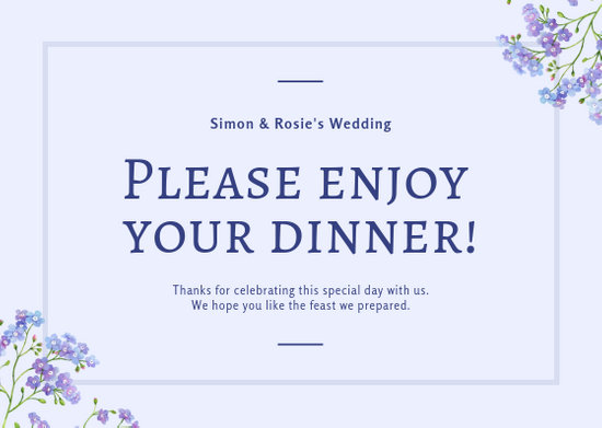 Customize 541+ Wedding Reception Card templates online - Canva