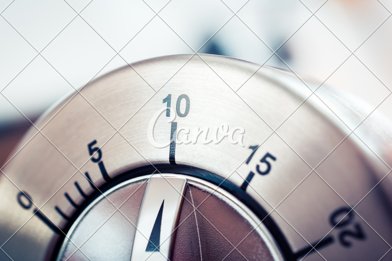 Ten Minutes on Timer - Photos by Canva