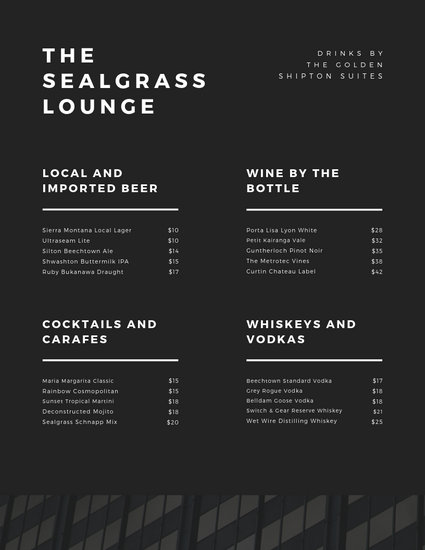 Customize 130+ Cocktail Menu templates online - Canva
