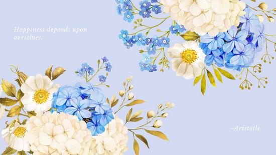 Peaceful Quotes Iphone Wallpaper Customize 499 Desktop Wallpaper Templates Online Canva