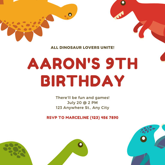 Customize 1,538+ Birthday Invitation templates online - Canva