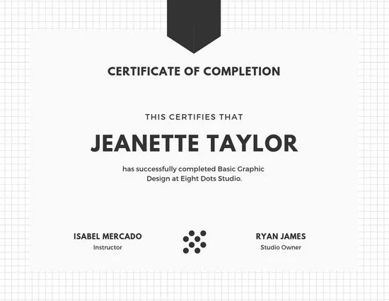 Customize 25+ Course Certificate templates online - Canva