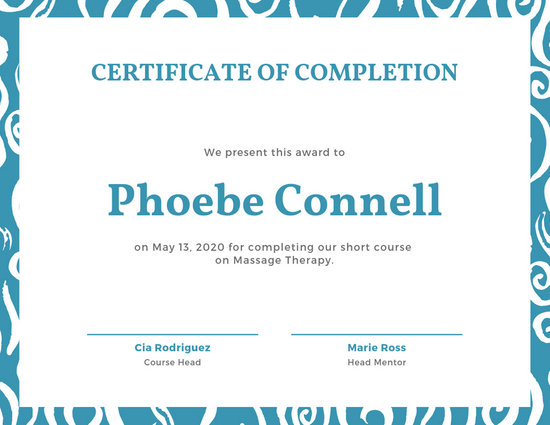 Classic Gold Training Certificate - Templates by Canva