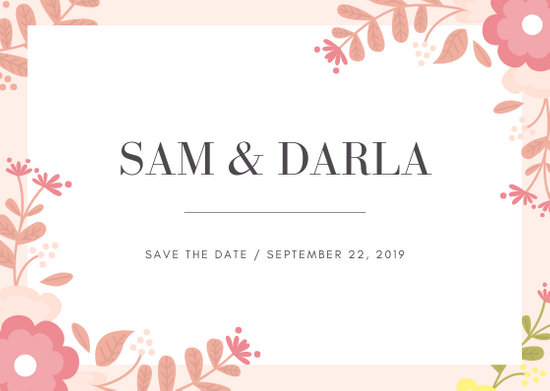 Customize 97+ Wedding Postcard templates online - Canva