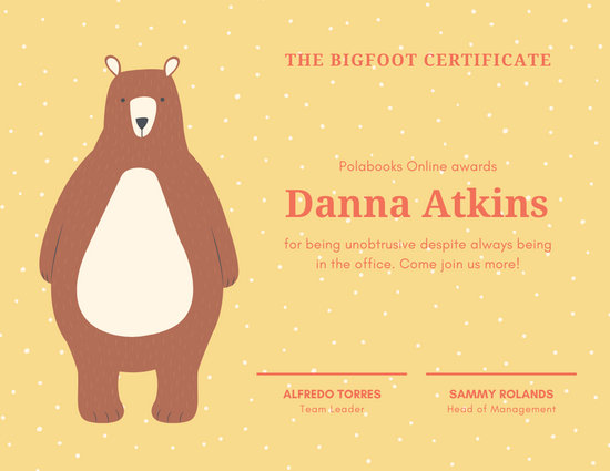 Customize 129+ Award Certificate templates online - Canva