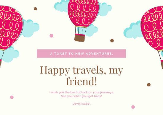 Customize 73+ Farewell Card templates online - Canva