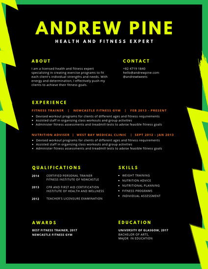Customize 866+ Modern Resume templates online - Canva