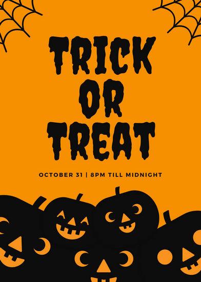 Customize 43+ Halloween Flyer templates online - Canva - halloween flyer template