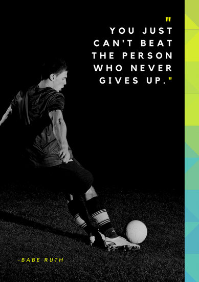 Volleyball Quotes Wallpapers Customize 277 Sports Poster Templates Online Canva