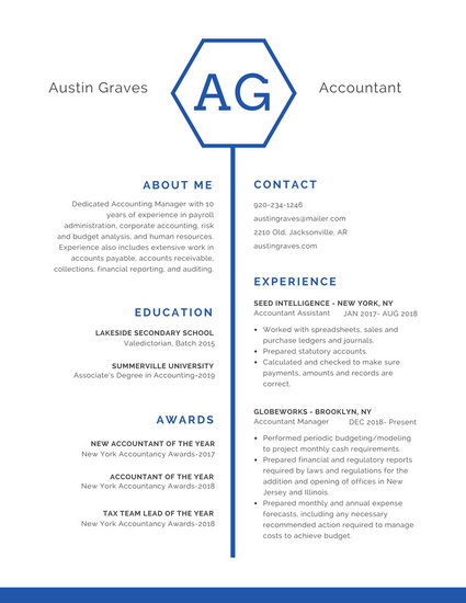Customize 298+ Professional Resume templates online - Canva - Resume Te