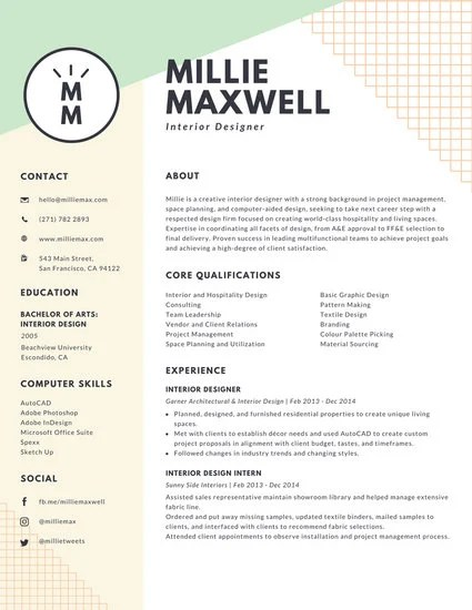 Customize 397+ Creative Resume templates online - Canva - Designing A Resume
