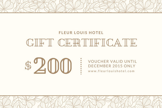 Customize 2,646+ Gift Certificate templates online - Canva