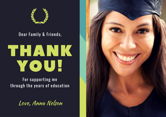 graduation thank you card - Nisatasj-plus