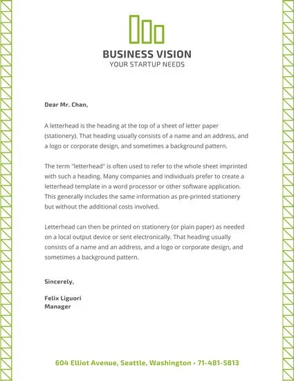 Customize 178+ Business Letterhead templates online - Canva