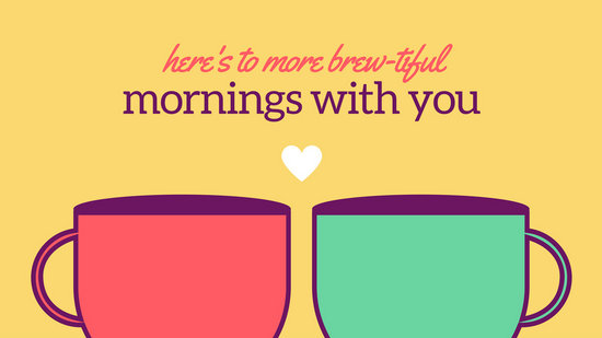 Cute Valentines Day Wallpapers Coral And Mint Couple Coffee Mug Cute Desktop Wallpaper
