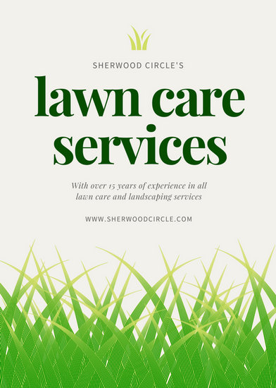 Customize 68+ Landscaping Flyer templates online - Canva - lawn services flyer