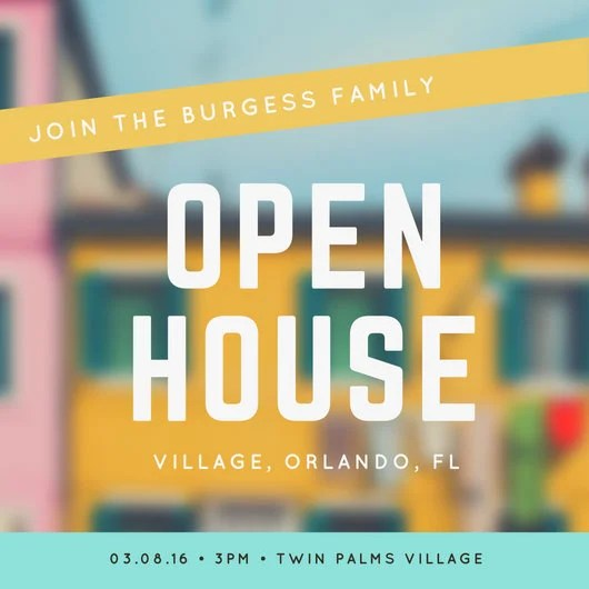Customize 499+ Open House Invitation templates online - Canva