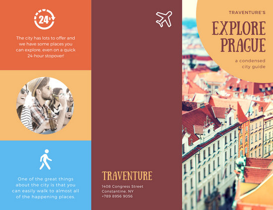 Customize 93+ Travel Brochure templates online - Canva - tourism brochure template