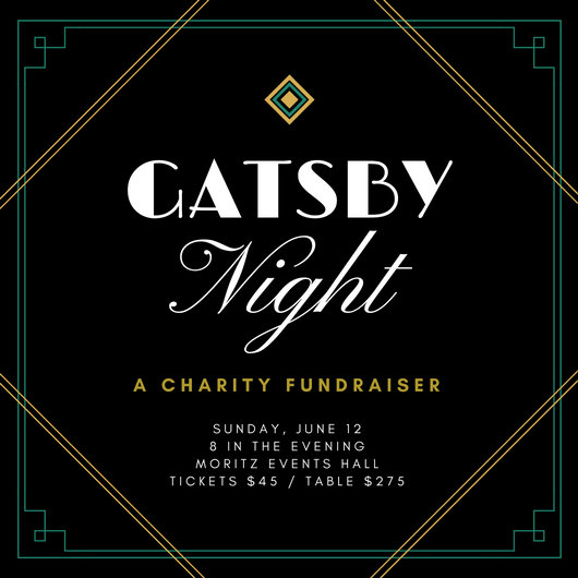 Green Gold Great Gatsby Formal Fundraiser Invitation - Templates by - fundraiser invitation templates