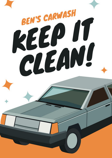 car flyers templatexampleunicloudpl - car wash flyer template