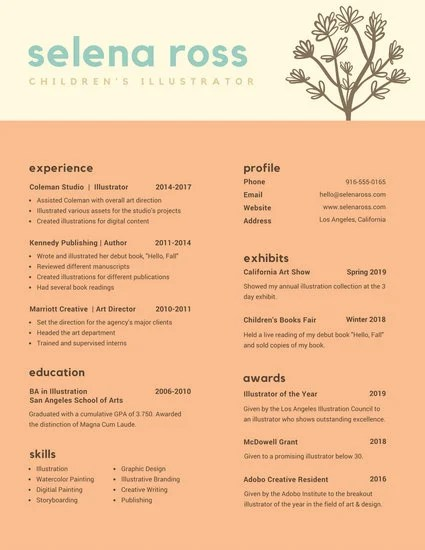 Customize 397+ Creative Resume templates online - Canva - how to write a creative resumes