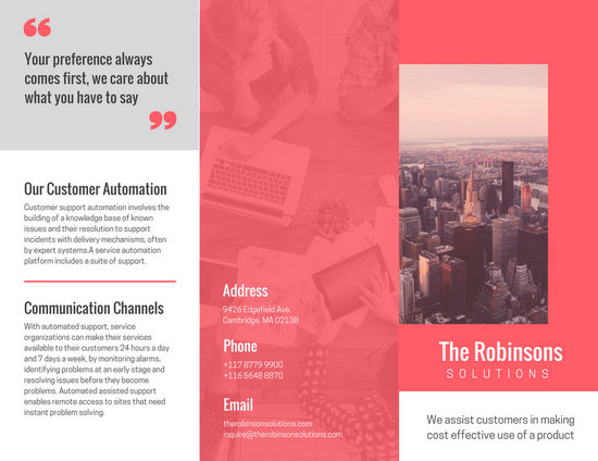 Customize 204+ Company Brochure templates online - Canva - Company Brochure Templates