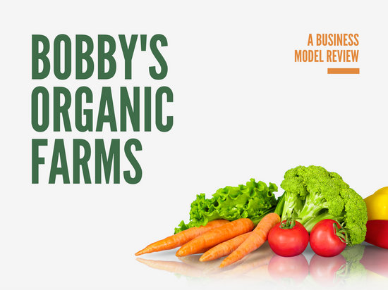 Organic Vegetable Photo Product Presentation - Templates by Canva