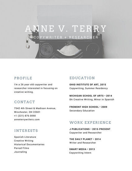 Customize 764+ Modern Resume templates online - Canva - picture resume template