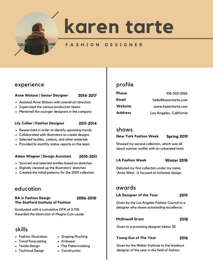 Customize 765+ Modern Resume templates online - Canva