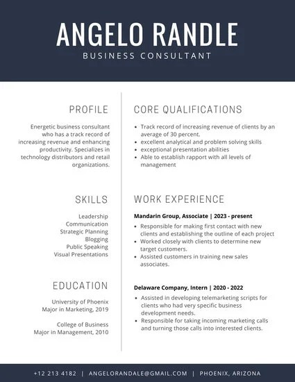 Customize 192+ Corporate Resume templates online - Canva