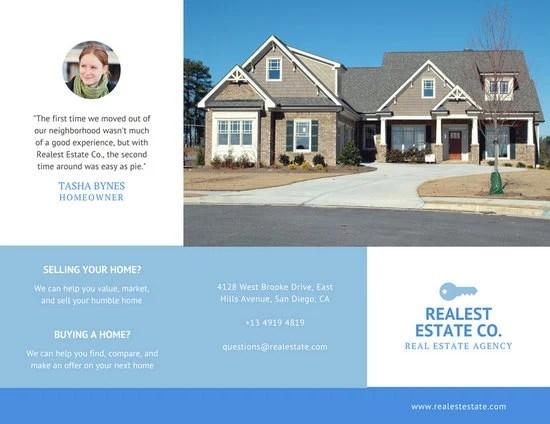 Customize 78+ Real Estate Brochure templates online - Canva