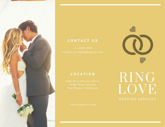 Customize 87+ Wedding Brochure templates online - Canva - wedding brochure template