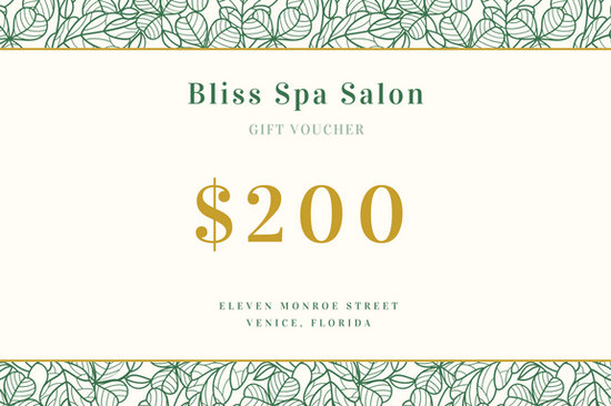 Green and Gold Spa Gift Certificate - Templates by Canva
