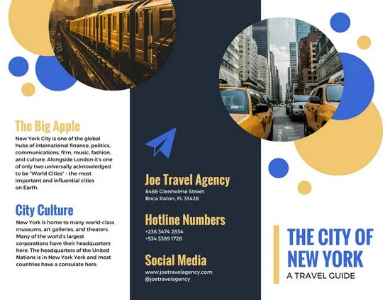 Customize 93+ Travel Brochure templates online - Canva