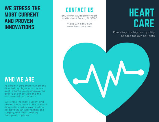 Customize 56+ Medical Brochure templates online - Canva