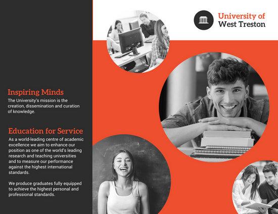 Customize 79+ College Brochure templates online - Canva