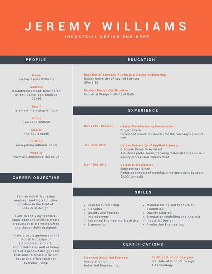 Customize 192+ Corporate Resume templates online - Canva - corporate resume examples