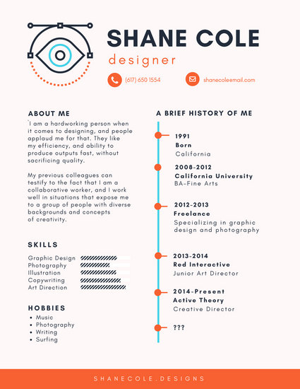 resume templates free canva